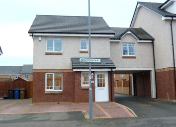 Thumbnail 3 bed link-detached house for sale in Adamston Way, Port Glasgow