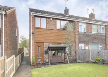 Thumbnail 3 bed end terrace house for sale in Annesley Road, Hucknall, Nottinghamshire
