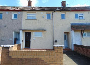 Thumbnail 3 bed terraced house to rent in Findon Road, Southdene, Kirkby