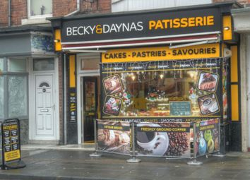 Thumbnail Restaurant/cafe for sale in Becky & Daynas Patisserie, 69 Victoria Terrace, Whitley Bay