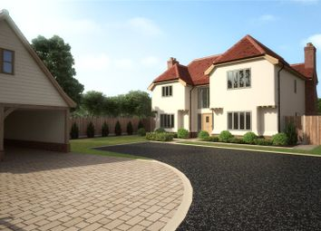 Thumbnail 5 bedroom detached house for sale in Pastures Close, Whiteditch Lane, Newport, Essex