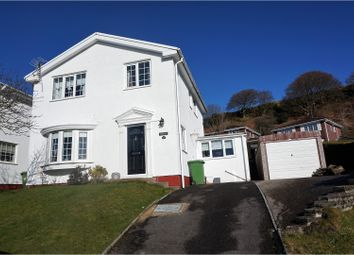 Thumbnail 4 bed detached house for sale in Graigwen Parc, Pontypridd