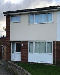 Thumbnail 3 bed semi-detached house to rent in Llys Alwen, Rhyl