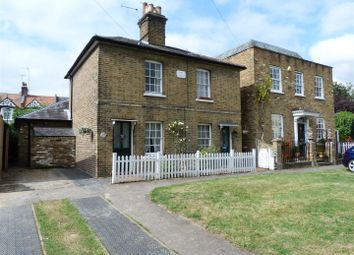 Thumbnail 2 bed semi-detached house for sale in Hope Cottages, Gentlemans Row, Enfield