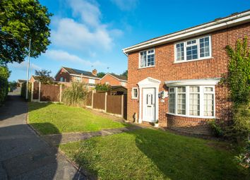 Thumbnail 3 bed semi-detached house for sale in Canaletto Close, Lowestoft