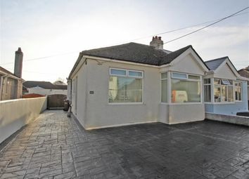 Thumbnail 2 bed semi-detached bungalow for sale in Bowden Park Road, Plymouth, Devon