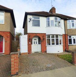 Thumbnail 3 bedroom semi-detached house for sale in Longland Road, Abington, Northampton
