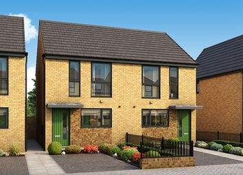 """Thumbnail 2 bedroom semi-detached house for sale in """"The Arkwright"""" at Arkwright Walk, Nottingham"""