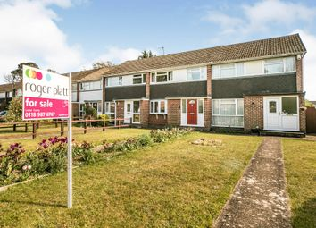 Thumbnail 3 bed end terrace house for sale in Fairwater Drive, Woodley, Reading