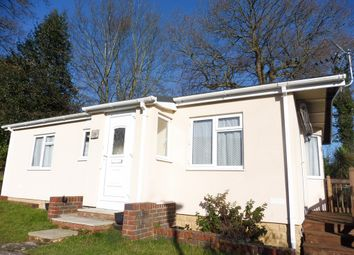 Thumbnail 2 bed mobile/park home for sale in Orchard View Park, Herstmonceux, Hailsham