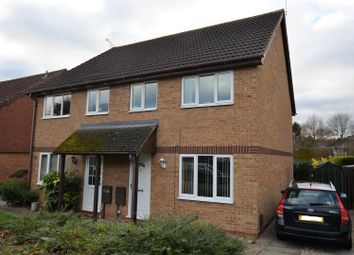 Thumbnail 3 bed semi-detached house for sale in Saffron Drive, Oakwood, Derby
