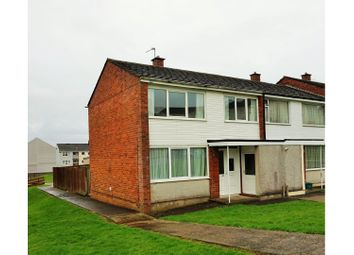 Thumbnail 3 bed end terrace house for sale in Harrier Road, Haverfordwest