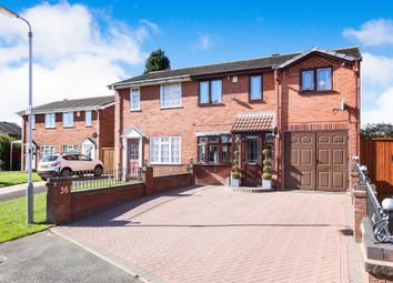 Thumbnail 3 bed semi-detached house for sale in Fawley Close, Hadley Heath Estate, Willenhall