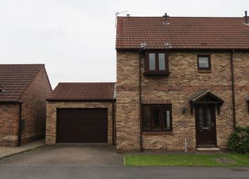 Thumbnail 3 bedroom semi-detached house to rent in Holgate Close, Malton