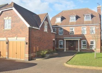 Thumbnail 5 bed detached house to rent in Chesnut Drive, Oadby