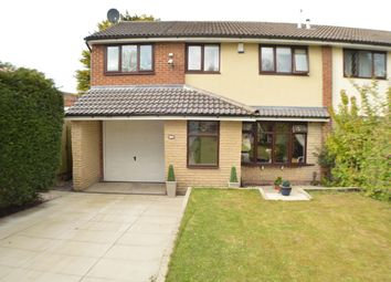 Thumbnail 5 bed semi-detached house for sale in Harlech Drive, Leyland