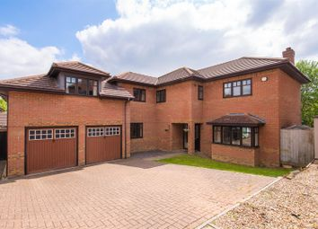 Thumbnail 5 bed detached house for sale in The Ryding, Shenley Brook End, Milton Keynes