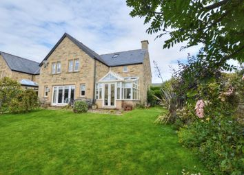 Thumbnail 4 bed detached house for sale in Alnside Court, Lesbury, Northumberland