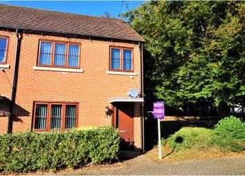 Thumbnail 3 bedroom end terrace house for sale in Owen Way, Limes Park, Basingstoke