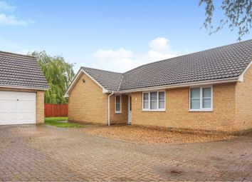 Thumbnail 3 bedroom detached bungalow for sale in Wenny Road, Chatteris