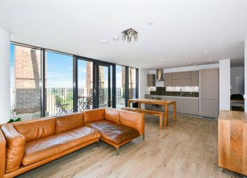 Thumbnail 2 bed flat to rent in Penthouse, Azure Building, Stratford