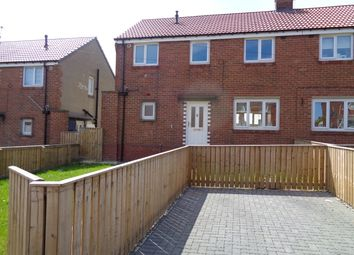 Thumbnail 3 bed semi-detached house to rent in Lowther Road, Bishop Auckland, Co Durham