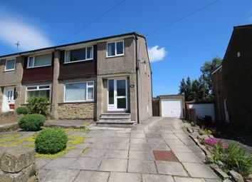 Thumbnail 3 bed semi-detached house for sale in Moor View Clough Lane, Halifax