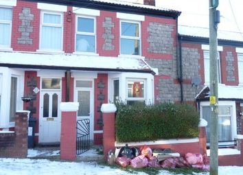 Thumbnail 2 bed terraced house to rent in St. Oswalds Road, Barry