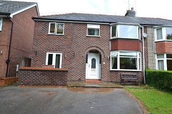 Thumbnail 4 bed semi-detached house to rent in Springfield Road, Macclesfield, Cheshire