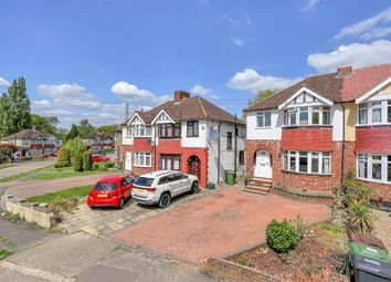 Thumbnail 4 bed semi-detached house for sale in Curtis Road, Ewell, Epsom