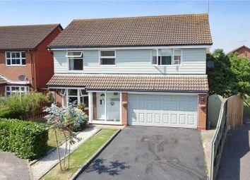 Thumbnail 4 bed detached house for sale in Kestrel Way, Wick, Littlehampton