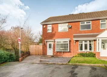 Thumbnail 3 bed semi-detached house for sale in Swallowfields Drive, Hednesfield, Cannock, Staffordshire