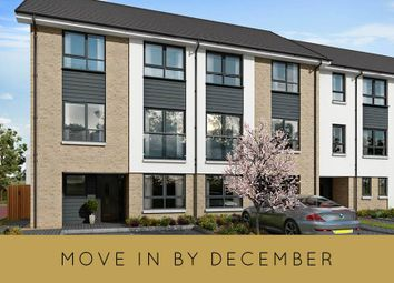 "Thumbnail 4 bed terraced house for sale in ""The Cramond Plus Study End Terrace"" at Milngavie Road, Bearsden, Glasgow"