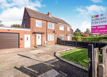 Thumbnail 3 bed semi-detached house for sale in South Side Villas, Ottringham, Hull