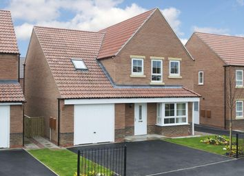 "Thumbnail 4 bed detached house for sale in ""Harrogate"" at Gold Furlong, Marston Moretaine, Bedford"