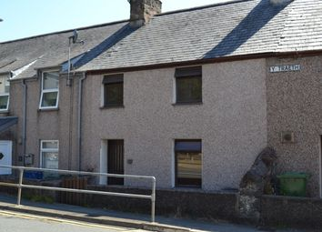 Thumbnail 2 bed terraced house for sale in Caernarfon Road, Porthmadog