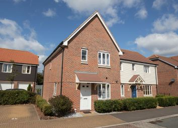 Thumbnail 3 bedroom semi-detached house for sale in Whyke Marsh, Chichester
