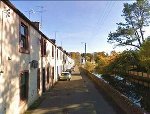 Thumbnail 1 bed flat for sale in St Cuthbert's Street, Mauchline, Mauchline