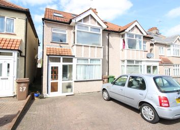 Thumbnail 4 bed semi-detached house for sale in Brinkley Road, Worceser Park, Surrey