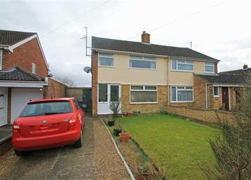 Thumbnail 3 bedroom semi-detached house for sale in Woodland Drive, Bromham, Bedford