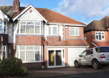 Thumbnail 5 bed semi-detached house for sale in Worlds End Road, Handsworth Wood, Birmingham