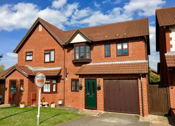 Thumbnail 3 bed semi-detached house for sale in Rossendale Close, Worle, Weston-Super-Mare