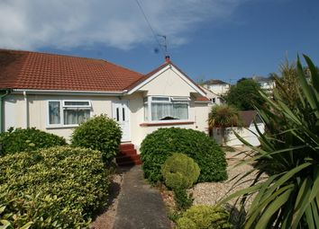 Thumbnail 3 bed semi-detached bungalow for sale in Spencer Road, Paignton