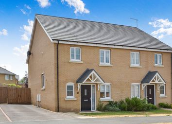 Thumbnail 3 bed semi-detached house for sale in Millfield Gardens, Redhouse Park, Milton Keynes