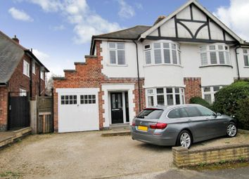 Thumbnail 3 bed semi-detached house for sale in Shanklin Drive, Knighton, Leicester