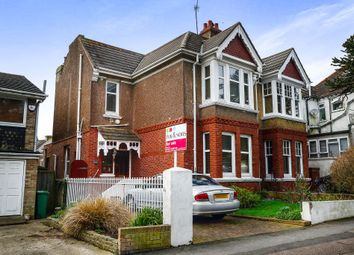 Thumbnail 3 bed semi-detached house for sale in Tower Road, Brighton