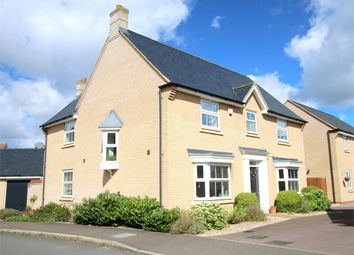 Thumbnail 4 bed detached house for sale in Lannesbury Crescent, St. Neots