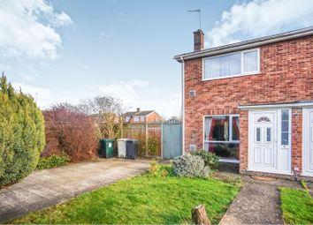 Thumbnail 2 bed end terrace house for sale in Canberra Close, Coningsby