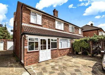 Thumbnail 3 bed semi-detached house for sale in Edinburgh Drive, Ickenham, Uxbridge, Middlesex