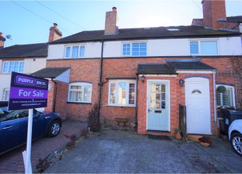 Thumbnail 2 bed terraced house for sale in Four Oaks Common Road, Sutton Coldfield